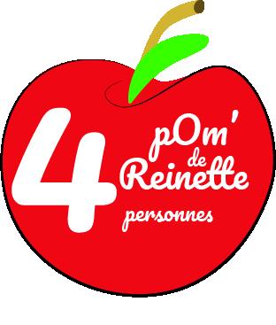 lien vers la page du gîte pom des reinettes pour 4 personnes